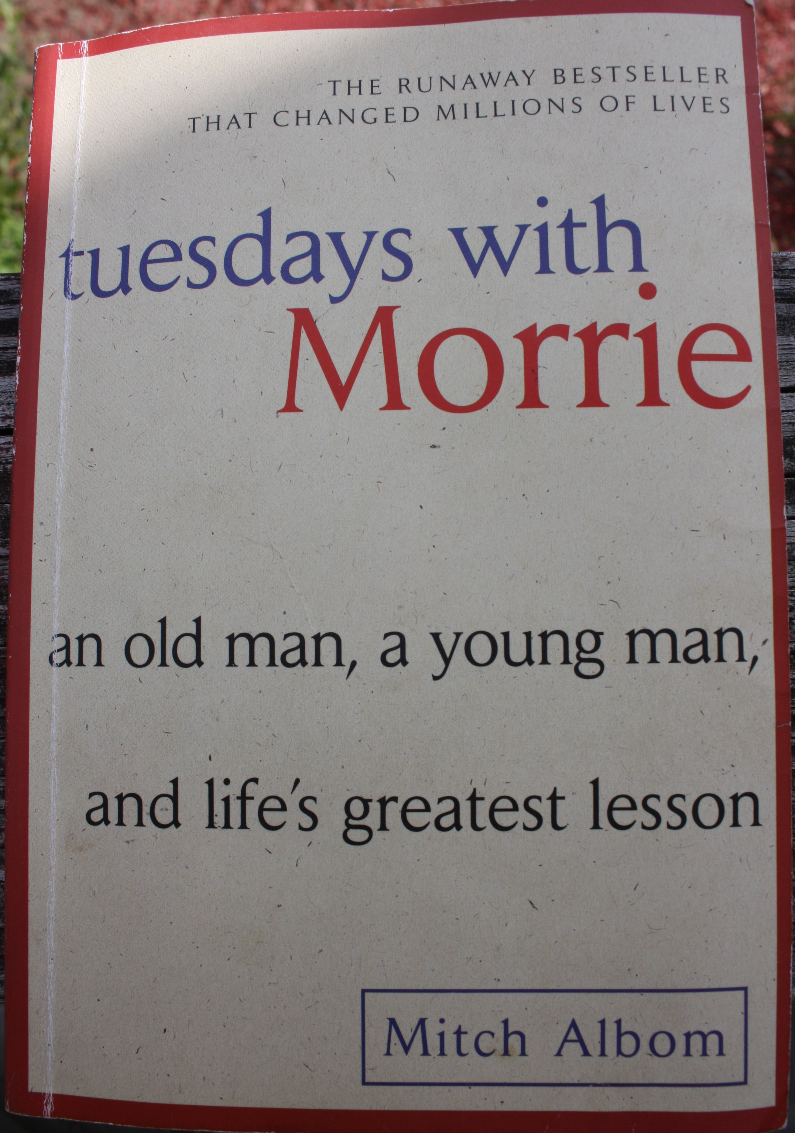 Tuesday With Morrie Quotes Tuesdays With Morrie Quotes  Journey To Complete Wellness