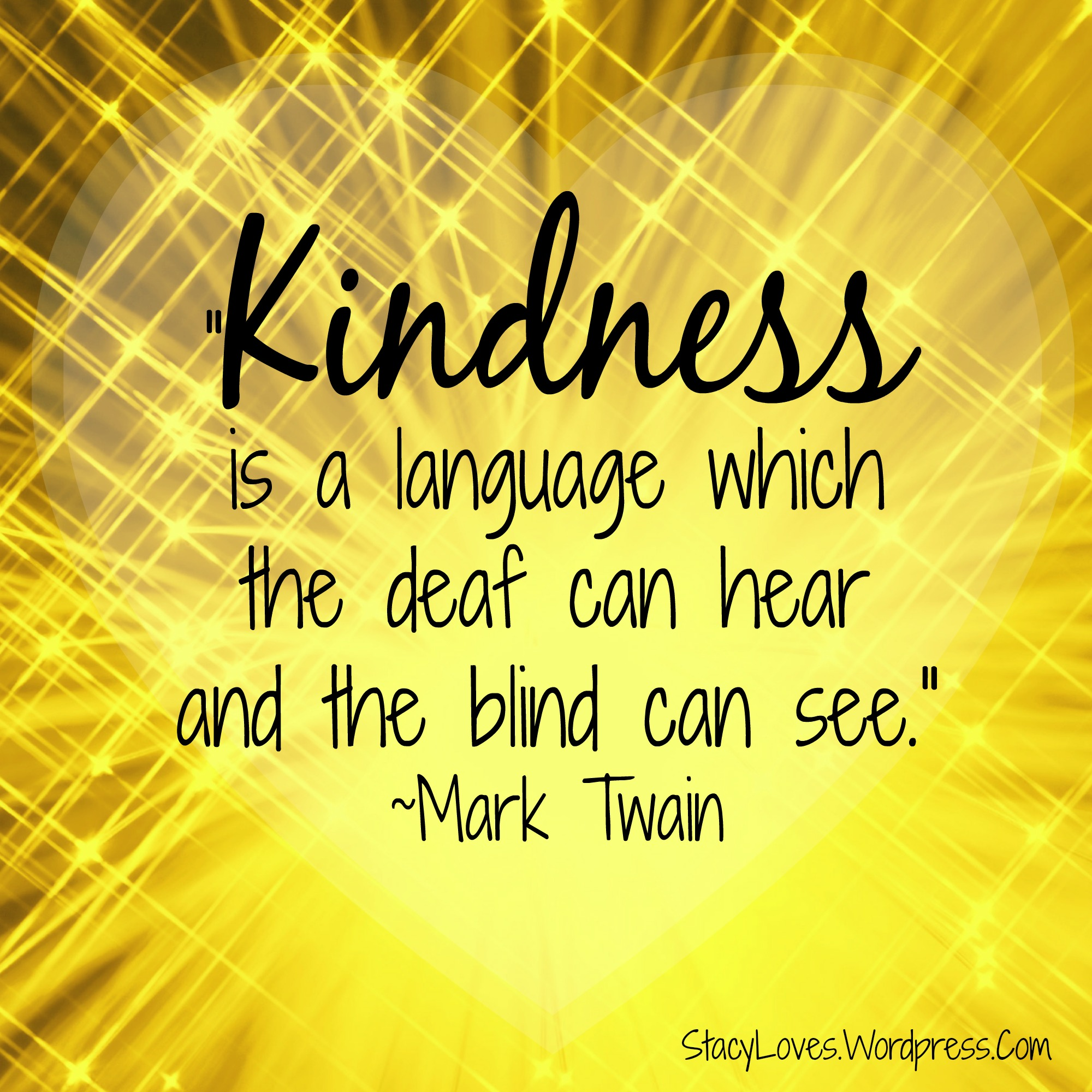 Quotes Kindness Mark Twain Kindness Quotes  Journey To Complete Wellness