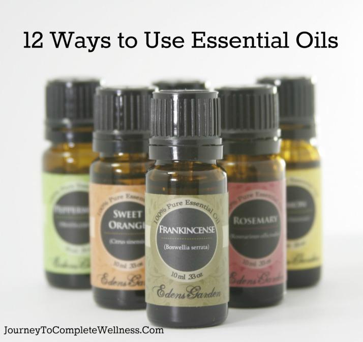 12 ways to use essential oils jtcw